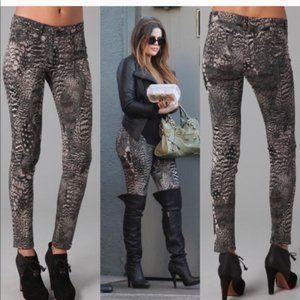 rag & bone Feather Print Legging/Jean, 25